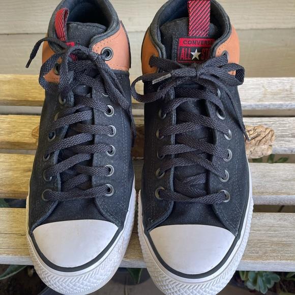 Men's Converse Brown & Black High Tops